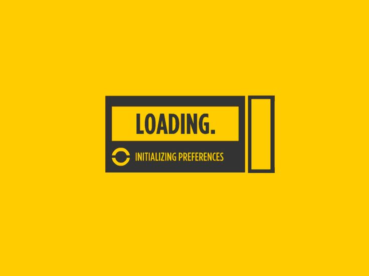 Loading bar design examples (gif animated)