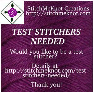 StitchMeKnot Test-Stitchers Needed