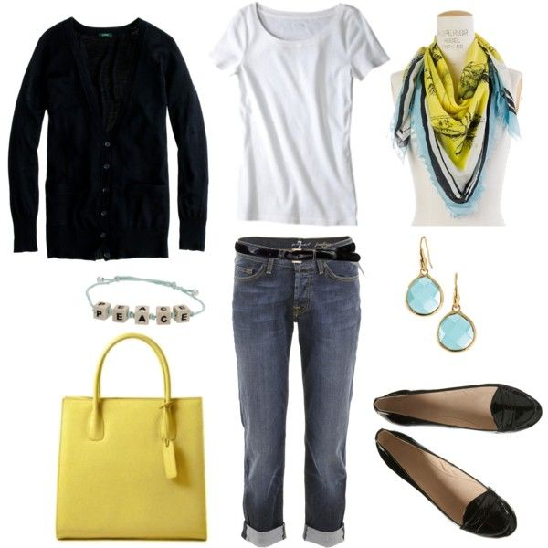 Love the yellow....different shoes tho!Fashion Outfit, Casual Style, Storytelling Scarf, Yellow Purses, Bluehydrangea Scarf, Study Storytelling, Spring Outfit, Nature Study, Beautiful Fashion