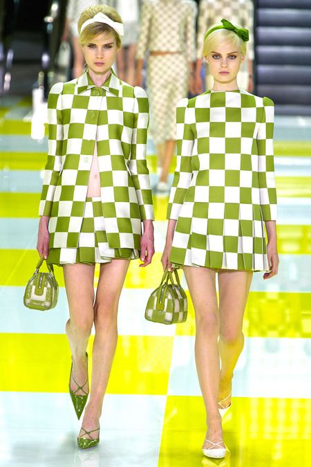 Love the large checks. Spry On The Wall: My Five - Louis Vuitton Spring 2013