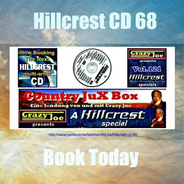 Welcome to Hillcrest CD 68. Introducing another great selection of Country Music Radio Promotions from Canada. Delivered direct to discerning Country Music Radio station DJs worldwide.