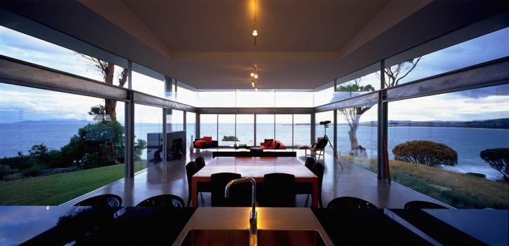 Avalon Coastal Retreat - Tasmania - View from the kitchen