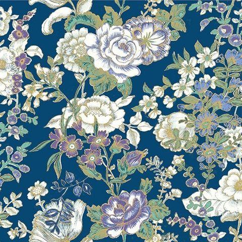 Ainsley Indigo Boho Floral