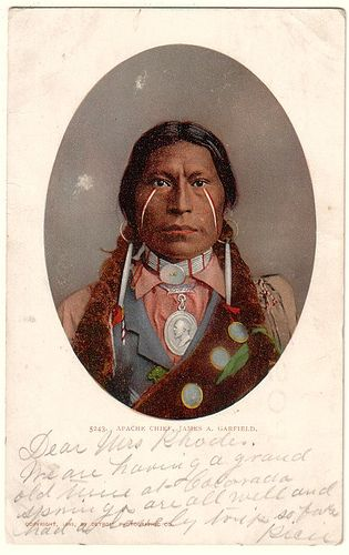 James A. Garfield, Apache Chief 1897, via Flickr.