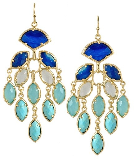 Kendra Scott Gwen Chandelier Earrings.  Wonderful.