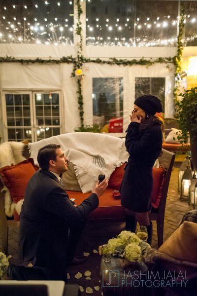 Winter wonderland proposal in NYC    by The Yes Girls - http://www.theyesgirls.com/blog/sneak-peek-winter-wonderland-on-valentines-weekend/