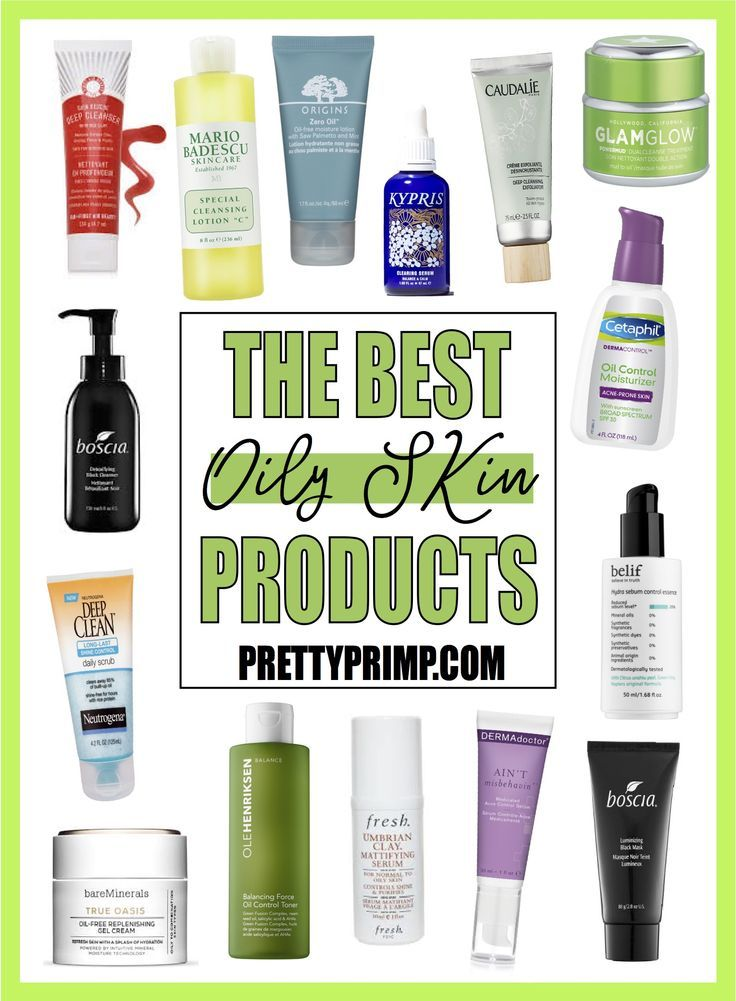 Skincare for oily skin, including the best drugstore and high end products, specifically, cleansers, exfoliators, toners, moisturizers, serums, and more for oily skin! #skincare #oilyskin #oilyskinsolution #skincareproducts