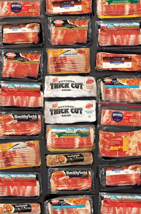 Oscar Mayer Butcher Thick Cut Bacon - Graphis