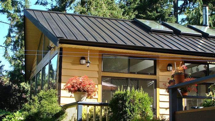 Long Lasting Snap It Steel Roofing Made In Victoria B C Metal Roof Metal Roof Panels Roofing