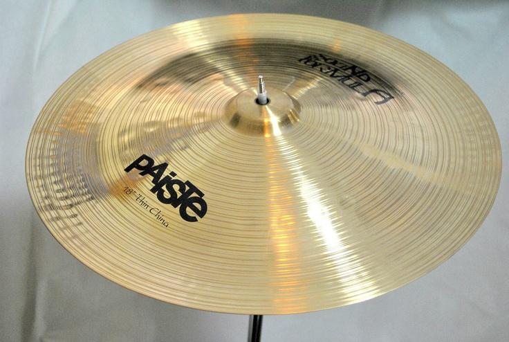 paiste sound formula thin china cymbal 18 drums stuff pinterest china. Black Bedroom Furniture Sets. Home Design Ideas