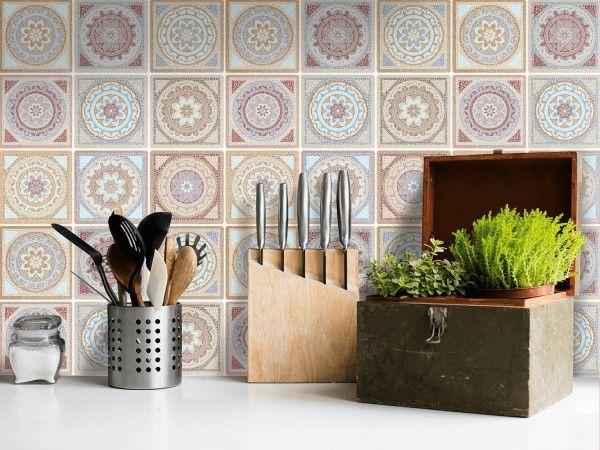 17 meilleures id es propos de cr dence adh sive cuisine - Carreaux adhesifs cuisine ...