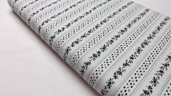 Northcott Little Darlings 2318-10 Ro Gregg Quilting and Sewing Cottons Striped Black and White