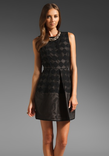 Tibi Diamond Jacquard Paneled Dress in Black: Fashion, Jacquard Panels, Tibi Diamonds, Panels Dresses, Dresssssss, Diamonds Jacquard, Black Diamonds