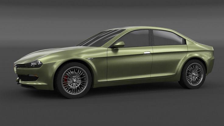 2016 Alfa Romeo Giulia Study by Rosario Dalessandro & MPcardesign