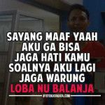 Foto dan Kata Kata Lucu Bahasa Sunda