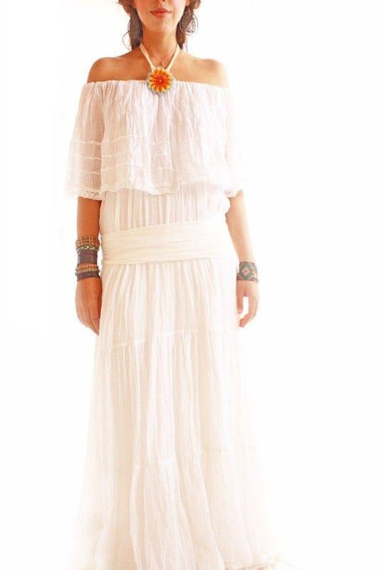 Fancy Venus Vintage Mexican Dress Wedding Spanish by AidaCoronado