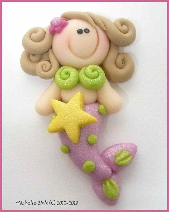 Sirena con estrella.