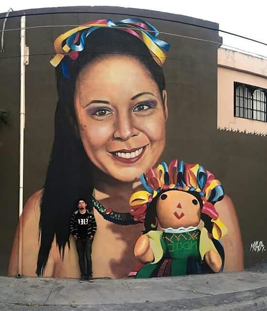 Sammy .  #street #art #mural #paint #mexico #maker  MAKER -
