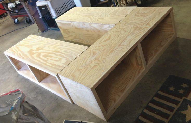 Superior Diy Storage Bed Fram Part 9 - DIY Queen Bed Frame With Storage