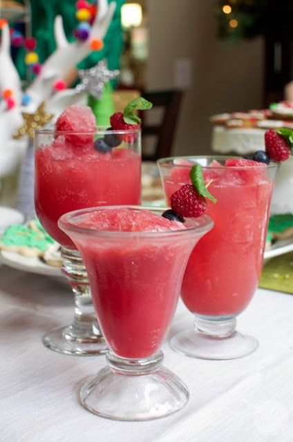 Christmas Slush - Drinks - Recipe Index