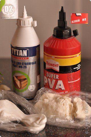 Мастер-класс Материалы и инструменты Лепка Улучшенный рецепт холодного фарфора Фарфор холодный фото 1