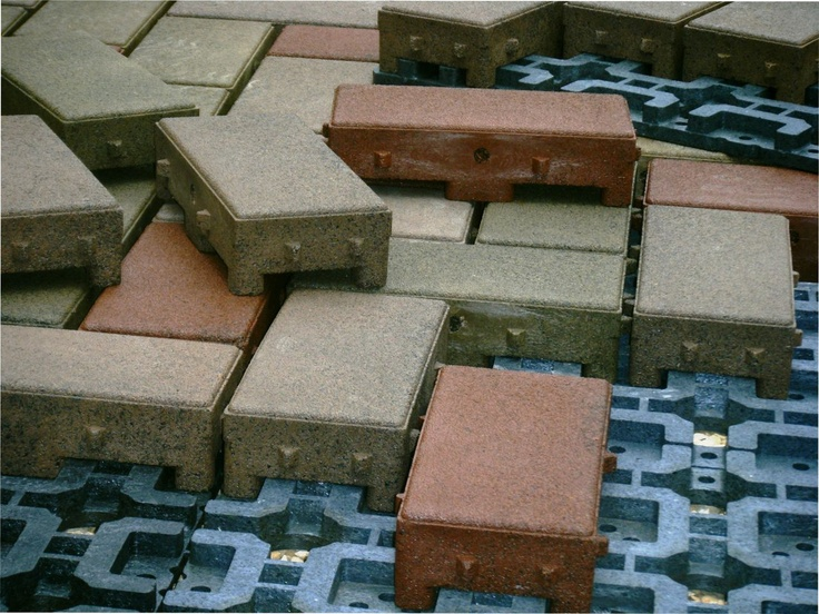 #DIY #pavers AZEK Pavers Takes The Frustration And Difficulty Out Of  Manually Setting And