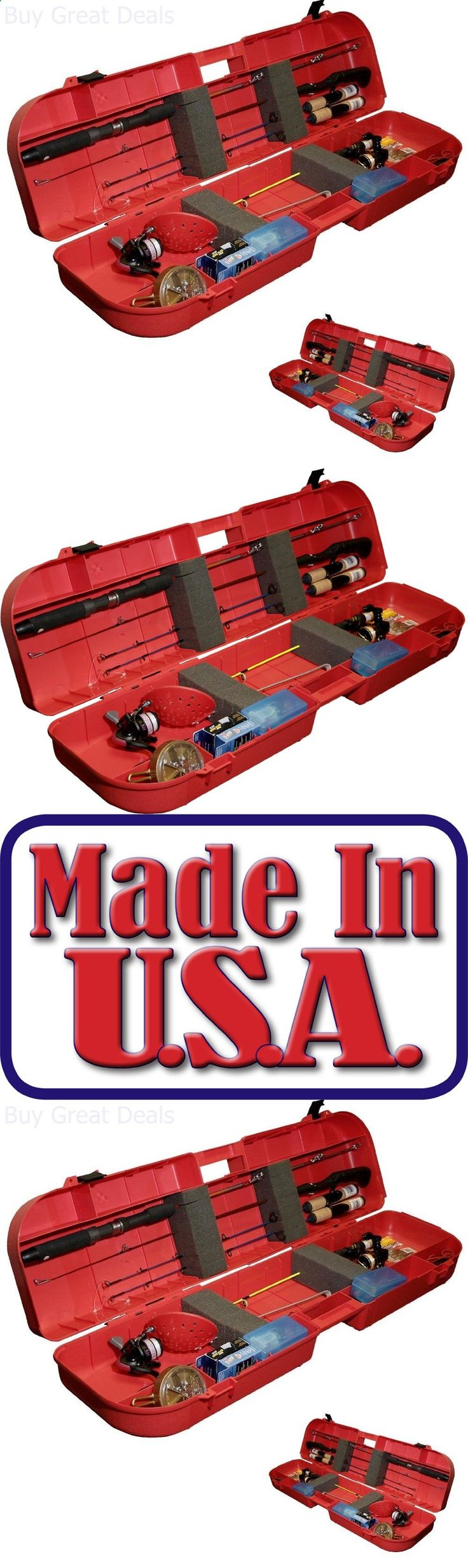 Ice Fishing Rods 179947: Case Box Fishing Rod Tackle Accessories Storage Holder Pole Reels Outdoor Travel -> BUY IT NOW ONLY: $46.93 on eBay!