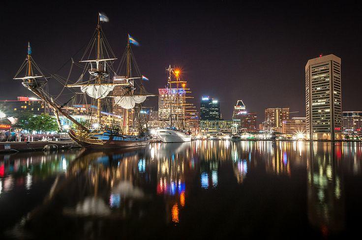 Star Spangled Spectacular Tall Ships.  Inner Harbor, Baltimore, Maryland