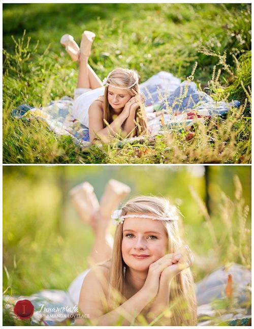 Senior posing  Senior Portraits – Ellaina – Class of 2014 Heritage High School – Chattanooga Senior Photographer hair accessories, country, quilt, outdoors, senior photo shoot, senior pictures outside