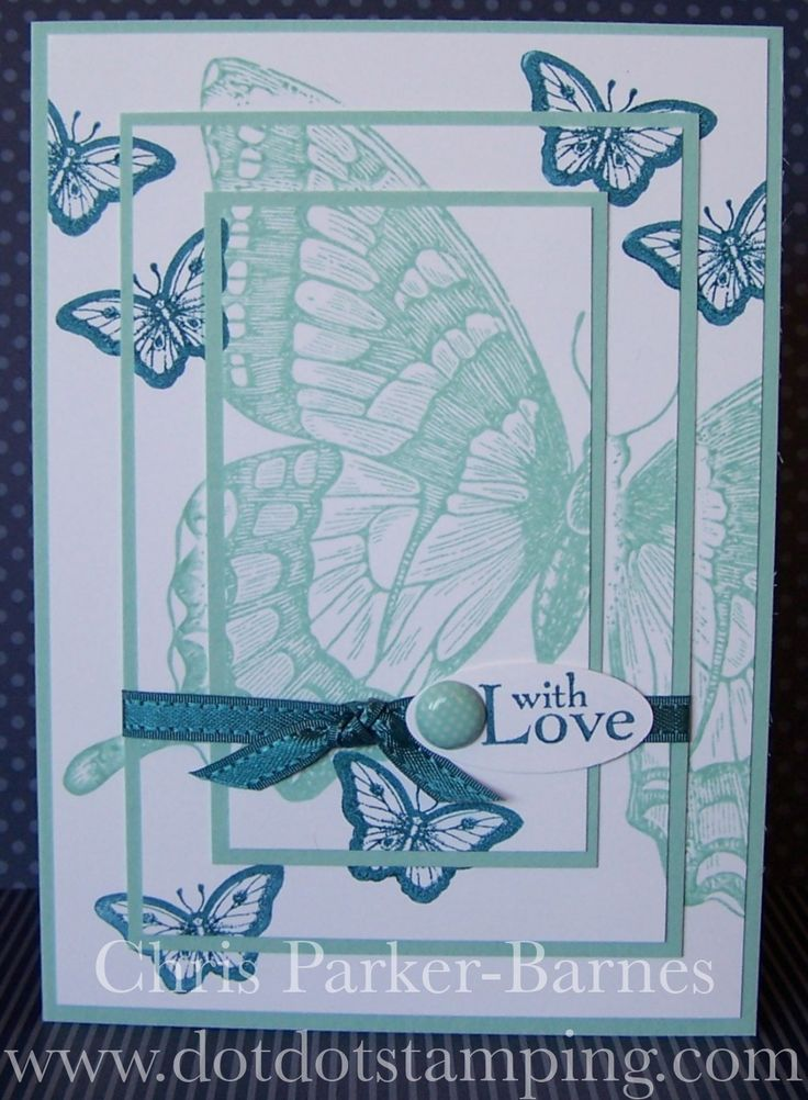 Stamping Ideas For Card Making Part - 33: Find This Pin And More On Cards SU Papillon Potpourri.
