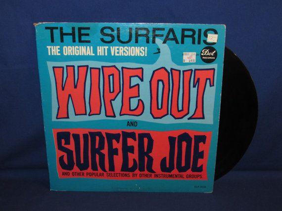 SURFARIS 1963 on Dot Records Wipe Out Surfer Joe DLP3535