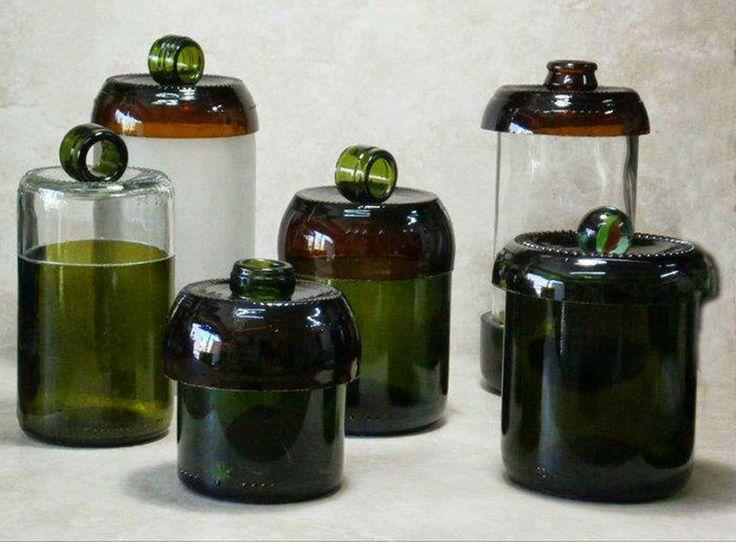 MENTŐÖTLET - kreáció, újrahasznosítás: Üvegvágás karcolással és jeges vízzel