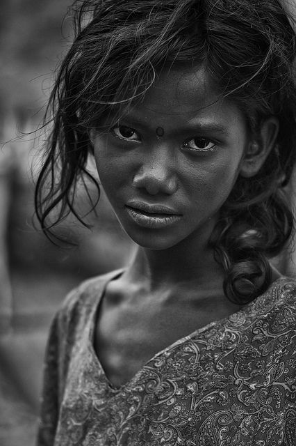 The Girl from Ramanagram by Anoop Negi, via Flickr