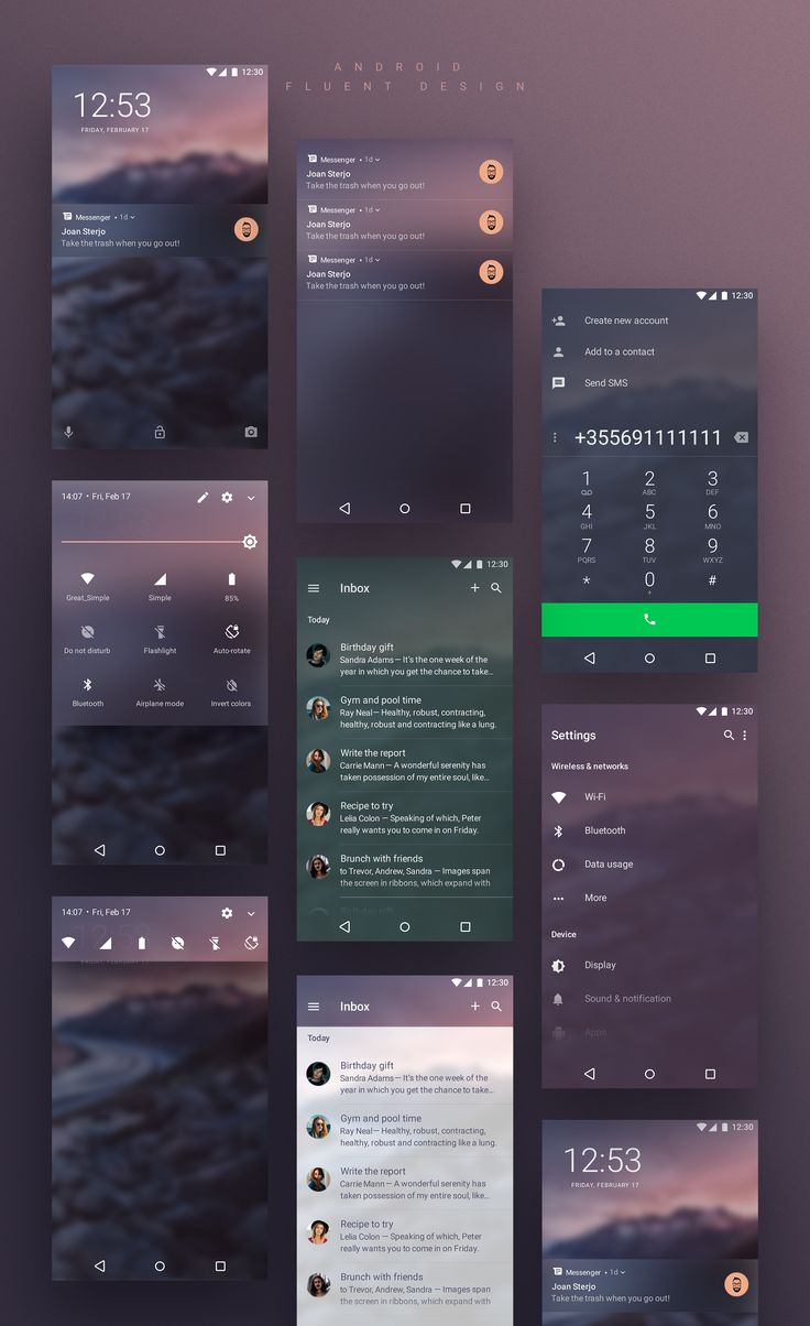 Android Fluent Design