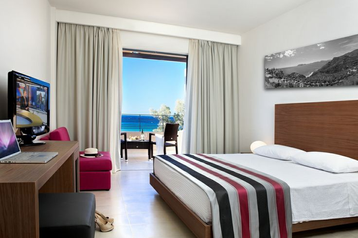 Our #Deluxe #Room with an amazing #Sea #View ! #Zakynthos #Greece