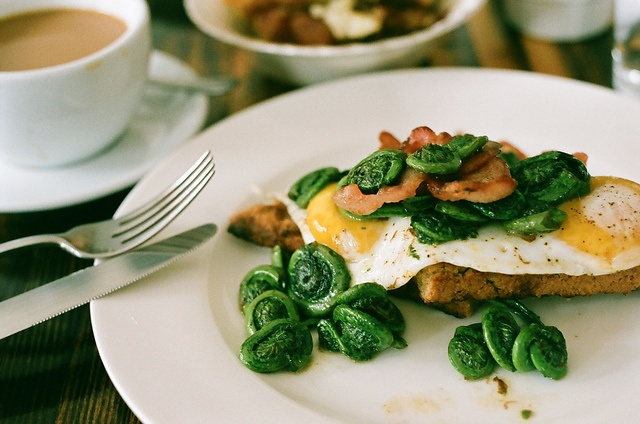 Fiddleheads Spring Breakfast in New Brunswick Canada we think we invented fiddleheads!