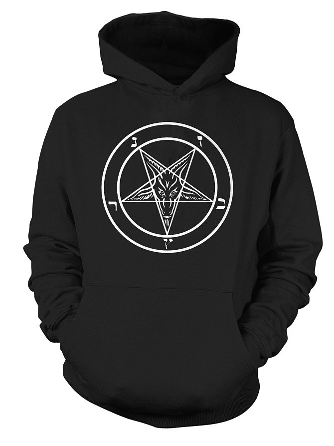 Baphomet Goat Head Satanic Star Pentagram