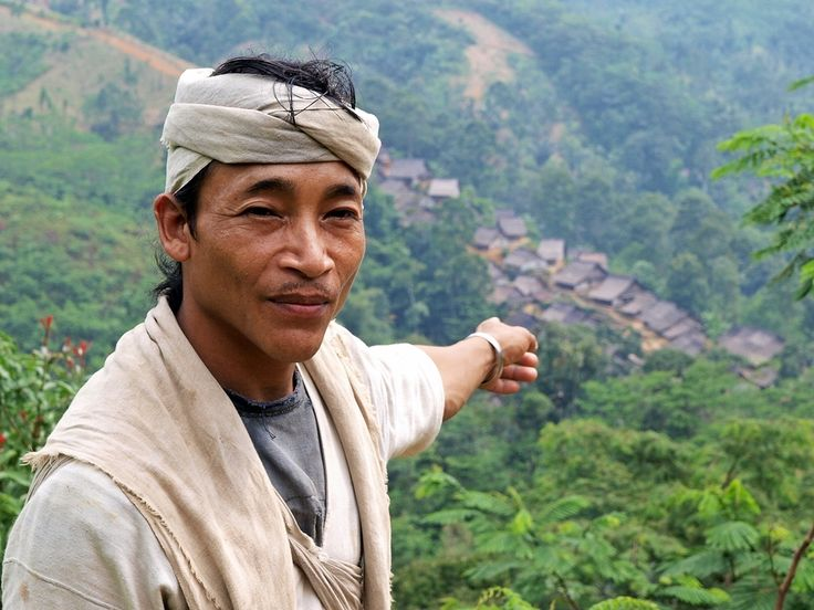 This gentleman is from Baduy tribe. He is pointing at one of the village where the Baduy tribe lived. The Baduy (or Badui), who call themselves Kanekes, are a traditional community living in the western part of the Indonesian province of Banten, near Rangkasbitung. A hilly forest area 120 km from Jakarta, Indonesia's capital. Baduy people reject all the modern lifestyle. Photograph that's my village (Baduy series 1) by Irawan Subingar on 500px
