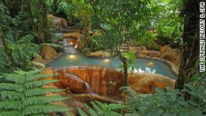 Costa Rica's top five hot springs. Love the fact that I've already been to one. Now must hit the remaining four.