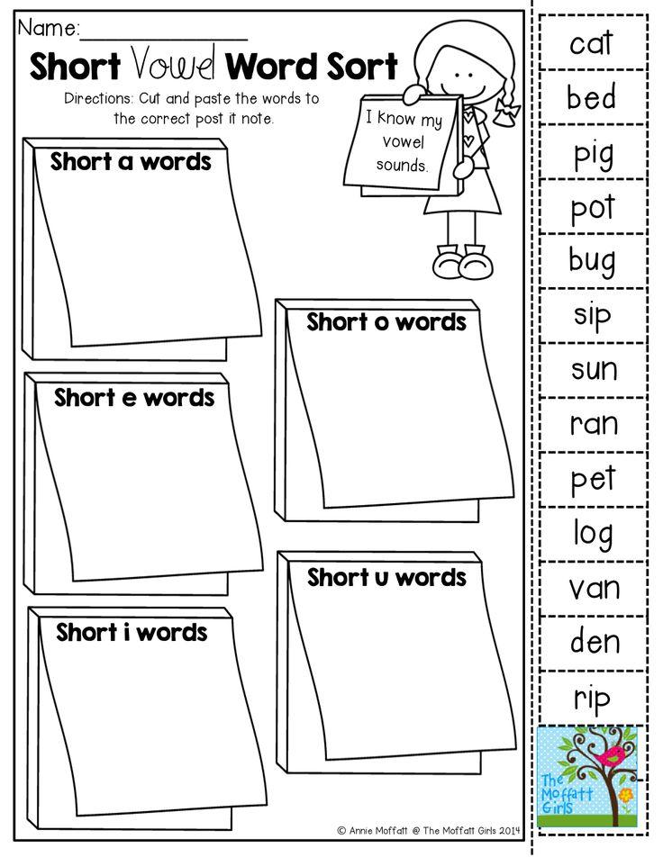 Best 20 Short Vowel Sounds Ideas On Pinterest Short