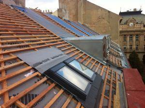 Rekonstrukce šikmé střechy #rekonstrukce