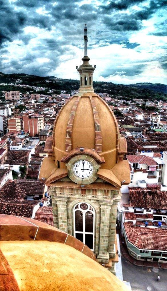 Panorámica, de Socorro, Santander #colombia