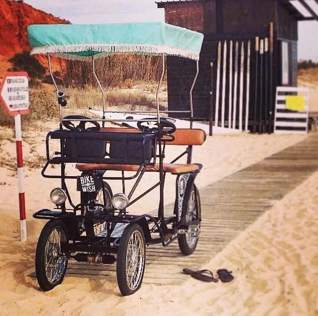 Ride on our Taxi Bike! :)  #rentabike #theAlgarve #Vilamoura #beach #tours #ebike #ecofriendly