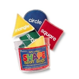 Learning resources ler0543 bean bags shape 8 pk throw the for Hand shaped bean bags