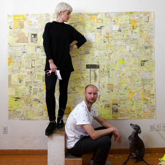 An Art World Love Story: As Simon Evans's star rises in the art world, his wife, Sarah Lannan, wants more credit. WSJ.com