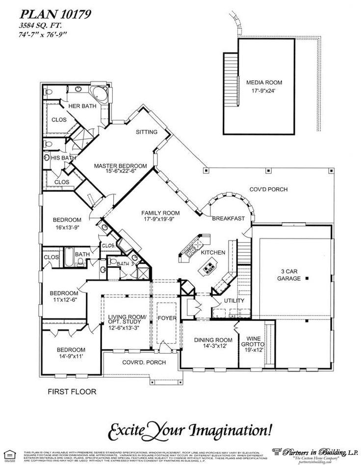 163 best homeplans images on Pinterest House floor plans, Floor - best of blueprint detail crossword clue