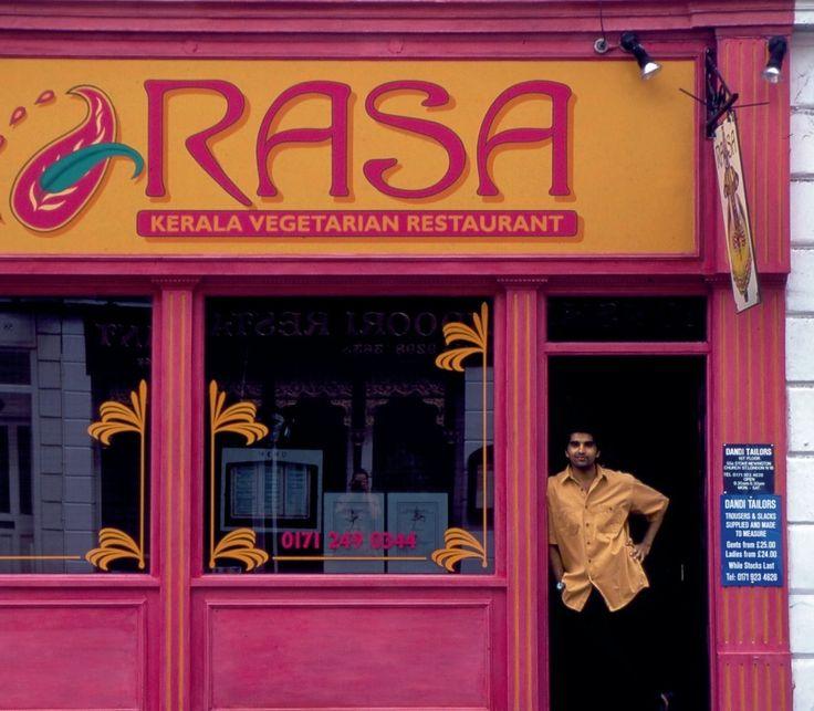 Rasa South Indian Vegetarian Restaurant Menu