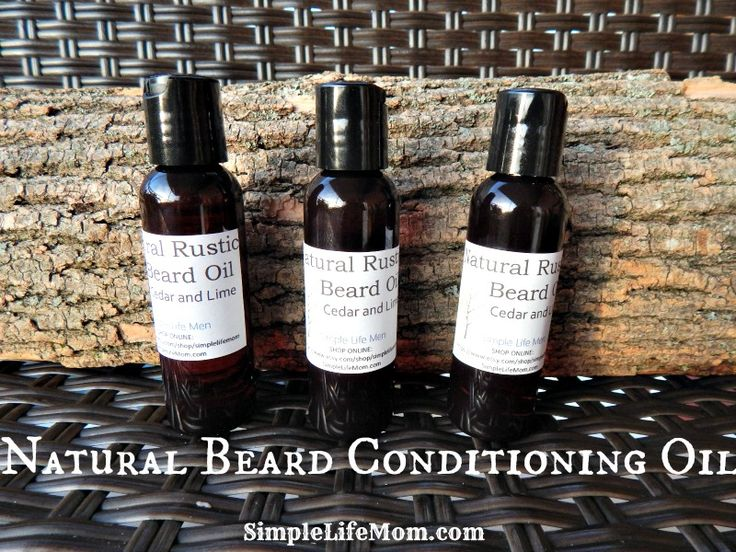 Natural Beard Conditioning Oil Recipe- How to make your own for him.  A great handmade gift for that man in your life. #giftsformen #Homemade #gifts