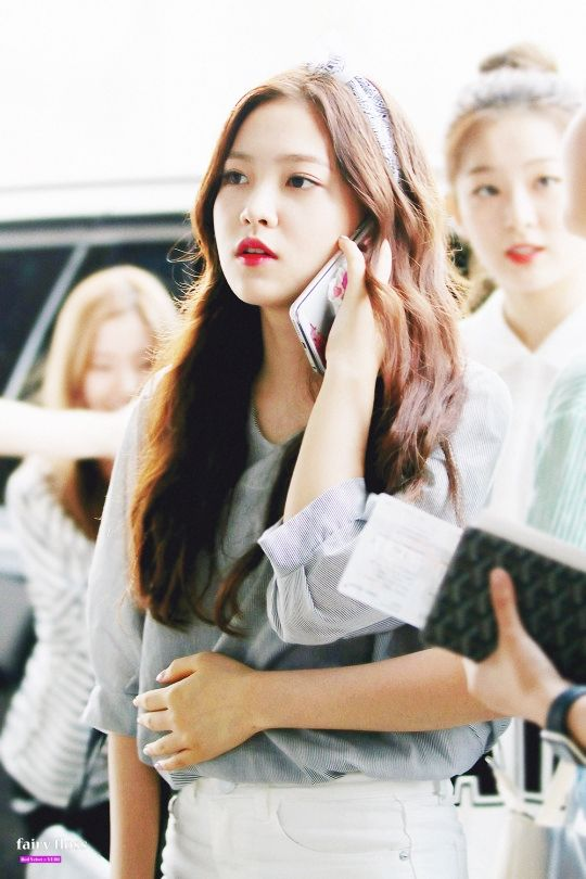 [PREVIEW] 150704 RED VELVET at Gimpo Airport on their way to Tokyo  Yeri
