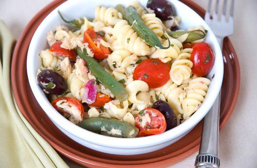 Warm Tuna Pasta Salad Recipe | Mezzetta.com | Don't Forgetta Mezzetta